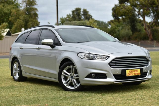Used Ford Mondeo MD 2017.00MY Ambiente Cheltenham, 2017 Ford Mondeo MD 2017.00MY Ambiente Silver 6 Speed Sports Automatic Dual Clutch Wagon
