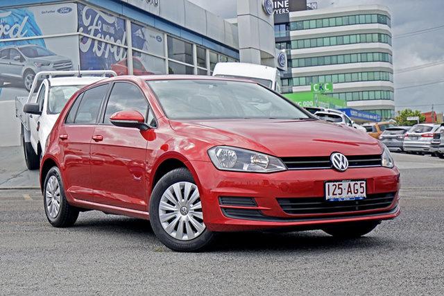Used Volkswagen Golf VII MY14 90TSI Springwood, 2014 Volkswagen Golf VII MY14 90TSI Red 6 Speed Manual Hatchback