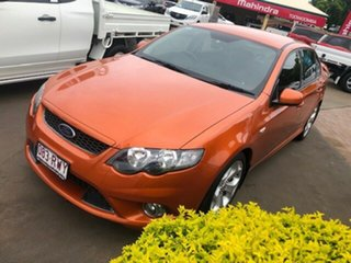 2011 Ford Falcon FG Upgrade XR6 Limited Edition Orange 6 Speed Auto Seq Sportshift Sedan