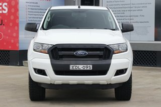 2015 Ford Ranger PX MkII XL 3.2 (4x4) White 6 Speed Automatic Crew Cab Utility