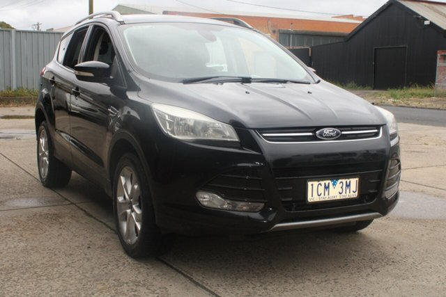 Used Ford Kuga TF Trend (AWD) West Footscray, 2013 Ford Kuga TF Trend (AWD) Black 6 Speed Automatic Wagon