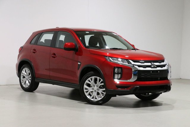 Used Mitsubishi ASX XD MY20 ES (2WD) Bentley, 2019 Mitsubishi ASX XD MY20 ES (2WD) Red Continuous Variable Wagon