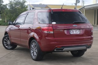 2012 Ford Territory SZ Titanium Seq Sport Shift Red 6 Speed Sports Automatic Wagon.
