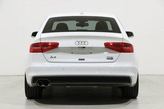 2016 Audi A4 F4 MY17 (B9) 2.0 TFSI Quattro S Tronic Spt White 7 Speed Auto Dual Clutch Sedan