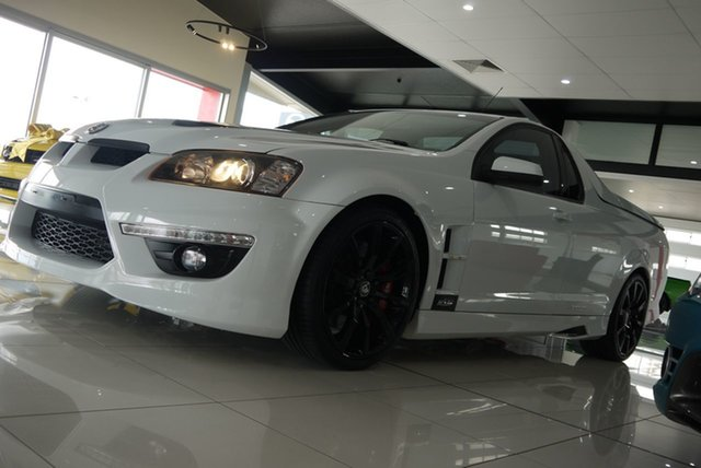 Used Holden Special Vehicles Maloo E Series 2 R8 Bundaberg, 2010 Holden Special Vehicles Maloo E Series 2 R8 White 6 Speed Manual Utility