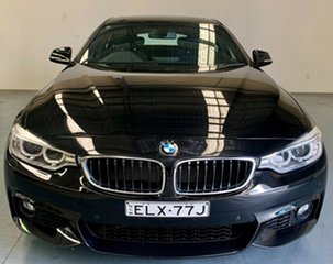 2015 BMW 4 Series F32 428i Luxury Line Black 8 Speed Sports Automatic Coupe.