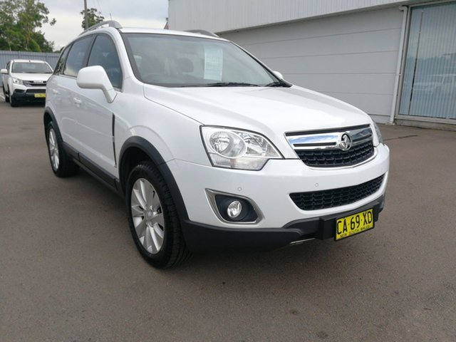 Used Holden Captiva CG MY14 5 LT Cardiff, 2014 Holden Captiva CG MY14 5 LT White 6 Speed Sports Automatic Wagon