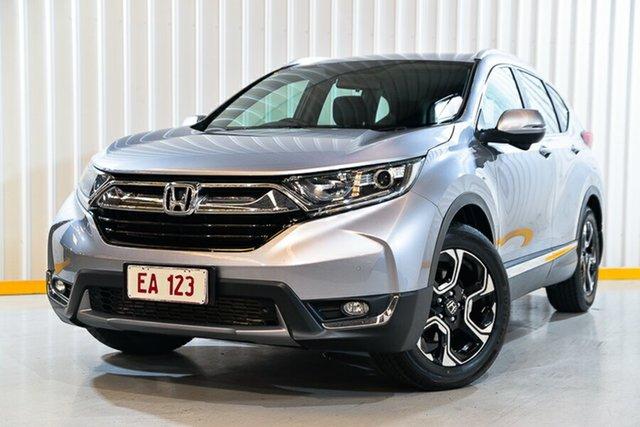 Used Honda CR-V MY18 VTi-S (2WD) Hendra, 2017 Honda CR-V MY18 VTi-S (2WD) Silver Continuous Variable Wagon