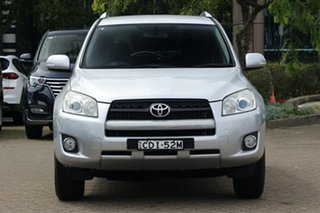 2011 Toyota RAV4 ACA38R MY11 Altitude (2WD) Silver 4 Speed Automatic Wagon