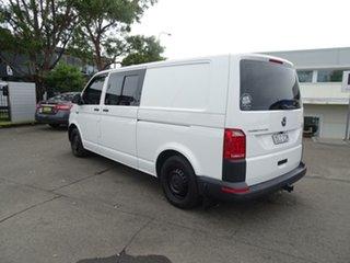 2015 Volkswagen Transporter T6 MY16 TDI340 LWB Candy White 6 Speed Manual Van.