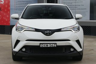 2018 Toyota C-HR NGX50R Koba S-CVT AWD Pearl White 7 Speed Constant Variable Wagon