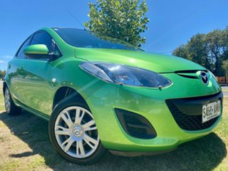 2011 Mazda 2 DE10Y2 MY12 Neo Green 4 Speed Automatic Hatchback.