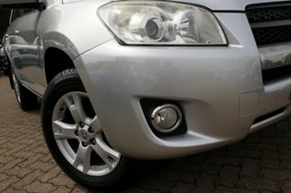 2011 Toyota RAV4 ACA38R MY11 Altitude (2WD) Silver 4 Speed Automatic Wagon.