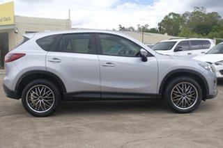 2014 Mazda CX-5 KE1072 Maxx SKYACTIV-Drive Sonic Silver 6 Speed Sports Automatic Wagon.