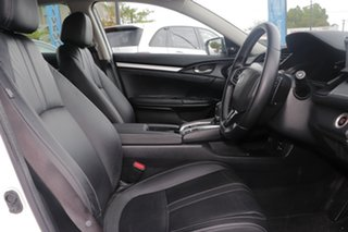 2017 Honda Civic 10th Gen MY16 RS White 1 Speed Constant Variable Sedan