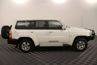 2016 Nissan Patrol Y61 GU 10 ST Pearl White 4 speed Automatic Wagon