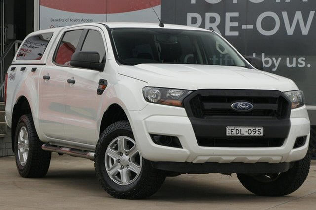 Pre-Owned Ford Ranger PX MkII XL 3.2 (4x4) Guildford, 2015 Ford Ranger PX MkII XL 3.2 (4x4) White 6 Speed Automatic Crew Cab Utility