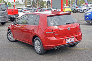 2014 Volkswagen Golf VII MY14 90TSI Red 6 Speed Manual Hatchback.