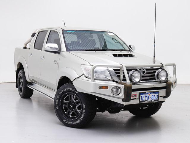 Used Toyota Hilux KUN26R MY14 SR5 (4x4), 2013 Toyota Hilux KUN26R MY14 SR5 (4x4) Silver 5 Speed Manual Dual Cab Pick-up