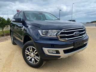 2019 Ford Everest UA II 2019.75MY Trend Blue 10 Speed Sports Automatic SUV.
