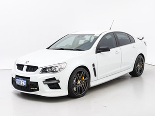 2013 Holden Special Vehicles GTS Gen F White 6 Speed Manual Sedan.