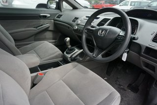 2007 Honda Civic 8th Gen MY07 VTi Black 5 Speed Manual Sedan