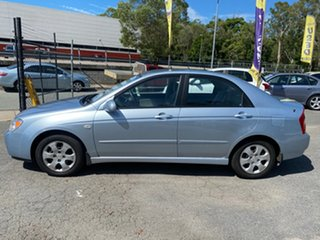 2006 Kia Cerato LD Blue 4 Speed Automatic Sedan