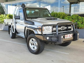 2020 Toyota Landcruiser GXL Silver 5 Speed Manual Utility.