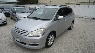 2007 Toyota Avensis Verso ACM21R Ultima Silver 4 Speed Automatic Wagon