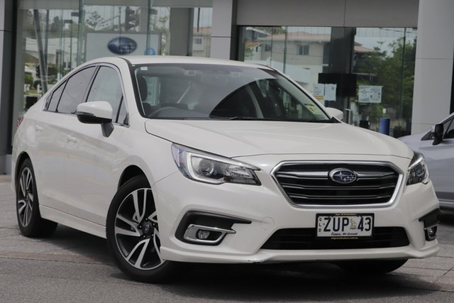 Demo Subaru Liberty B6 MY20 2.5i CVT AWD Mount Gravatt, 2020 Subaru Liberty B6 MY20 2.5i CVT AWD Crystal White 6 Speed Constant Variable Sedan