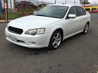2006 Subaru Liberty B4 MY06 2.0R AWD White Pearl 5 Speed Manual Sedan