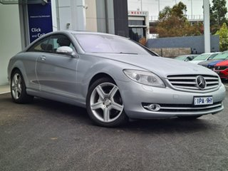 2007 Mercedes-Benz CL-Class CL500 Silver 7 Speed Automatic Coupe.
