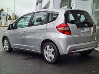 2011 Honda Jazz GLi Silver 5 Speed Automatic Liftback.