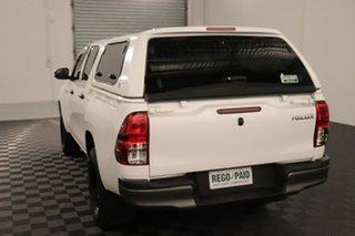 2017 Toyota Hilux GUN125R Workmate Double Cab Glacier 6 speed Automatic Utility