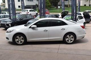 2015 Holden Malibu V300 MY14 CD White 6 Speed Sports Automatic Sedan.