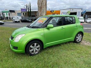 2010 Suzuki Swift RS415 GLX Green 4 Speed Automatic Hatchback.