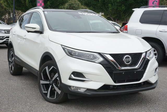 Used Nissan Qashqai J11 Series 2 Ti X-tronic Phillip, 2019 Nissan Qashqai J11 Series 2 Ti X-tronic White 1 Speed Constant Variable Wagon