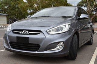 2014 Hyundai Accent RB3 SR Grey 6 Speed Sports Automatic Hatchback.