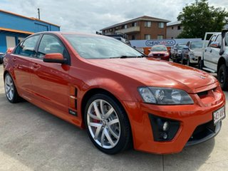 2006 Holden Special Vehicles ClubSport E Series R8 Orange 6 Speed Manual Sedan.