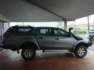 2017 Mitsubishi Triton MQ MY18 GLX Plus (4x4) Grey 5 Speed Automatic Club Cab Pickup.