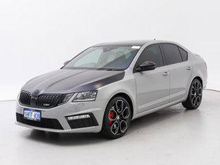 2017 Skoda Octavia NE MY18 RS 245 Grey 7 Speed Auto Direct Shift Sedan.
