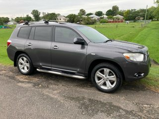 2010 Toyota Kluger GSU40R Grande 2WD Graphite 5 Speed Sports Automatic Wagon