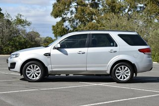 2016 Ford Territory SZ MkII TX Seq Sport Shift AWD Silver 6 Speed Sports Automatic Wagon