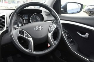 2015 Hyundai i30 GD3 Series 2 Active X Blue 6 Speed Manual Hatchback