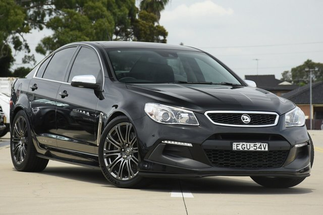 Used Holden Special Vehicles Senator Gen F2 Signature Chullora, 2016 Holden Special Vehicles Senator Gen F2 Signature Black 6 Speed Auto Active Sequential Sedan