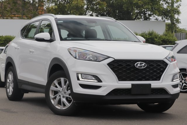 Used Hyundai Tucson TL3 MY19 Active X 2WD Mount Gravatt, 2019 Hyundai Tucson TL3 MY19 Active X 2WD White 6 Speed Automatic Wagon
