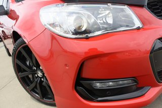 2017 Holden Commodore VF II MY17 SS-V Redline Motorsport Edt Red 6 Speed Manual Sedan.