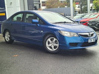 2010 Honda Civic VTI Blue Manual Sedan.