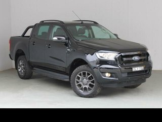 2017 Ford Ranger PX MkII MY17 FX4 Special Edition Black 6 Speed Manual Double Cab Pick Up