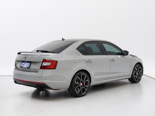 2017 Skoda Octavia NE MY18 RS 245 Grey 7 Speed Auto Direct Shift Sedan